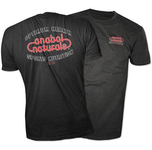 AnabolNaturals Black T-shirt