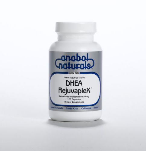 DHEA RejuvapleX - 120 Sublingual Caps - Unflavored