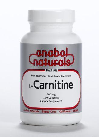 L-Carnitine - 500 mg caps - 120 caps