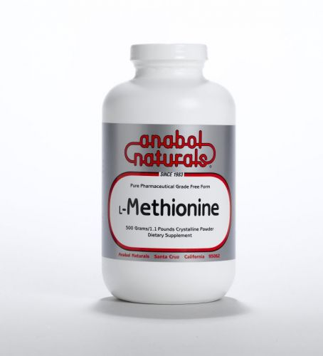 L-Methionine - 500 grams Powder