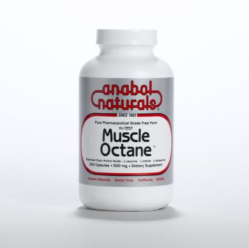 Muscle Octane BCAA's - 240 caps