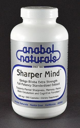 Sharper Mind - Ginkgo Biloba 60 Caps