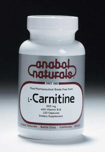 L-Carnitine - 500 mg caps - 60 caps